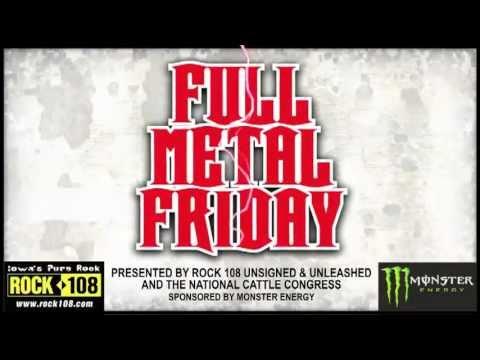Full Metal Friday - May 20th - at the Pavilion