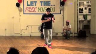 Soulbotics Krew showcase Let the Music Move You (Poppin John, John Doe, Dnoi)