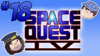 Space Quest IV: Super Duper Computer - PART 18 - Steam Train
