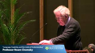 """Language, Creativity, and the Limits of Understanding"" by Professor Noam Chomsky (4-21-16)"
