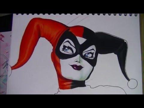 Dibujo De Harley Quinn Parte 1