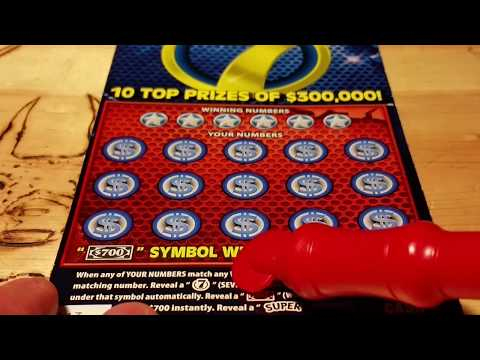 ((NEW)) $10 7 TICKET~PA LOTTERY SCRATCH OFF~INSTANT GAMES