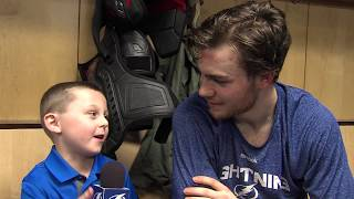 Junior Reporter - One on one with Brayden Point - 20170206