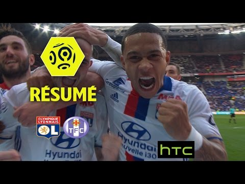 Olympique Lyonnais - Toulouse FC (4-0)  - Résumé - (OL - TFC) / 2016-17