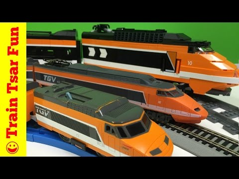 TGV Trains – LEGO, HO Scale, and TOMY Train Collection