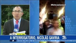 Fiscalía llama a interrogatorio a Nicolás Gaviria por insultar a policías - 5 de Marzo de 2015