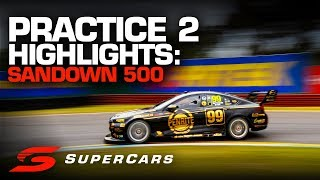 Highlights: Practice 2 Sandown 500 | Supercars Championship 2019