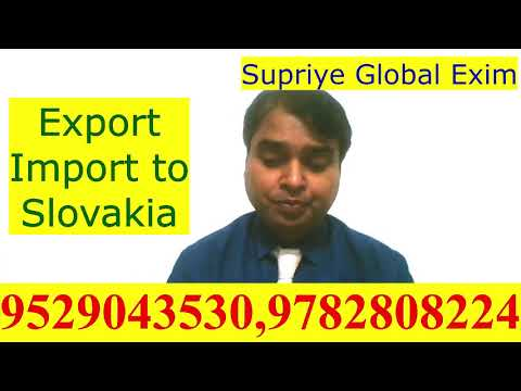 Export- Import to Slovakia