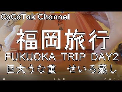 【福岡旅行】2日目柳川川下り&巨大うな重せいろ蒸しの巻