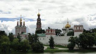 Klasztor i Cmentarz Nowodziewiczy w Moskwie, 22 lipiec 2013 r. Rosja