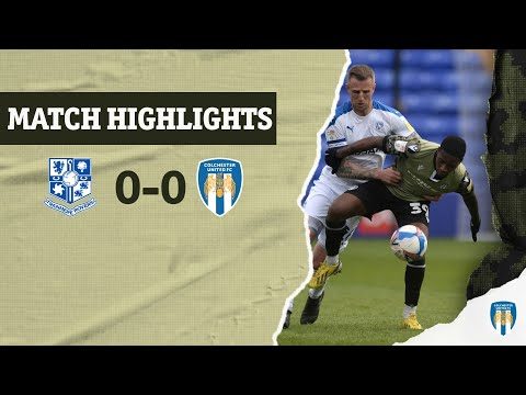 Tranmere Colchester Goals And Highlights