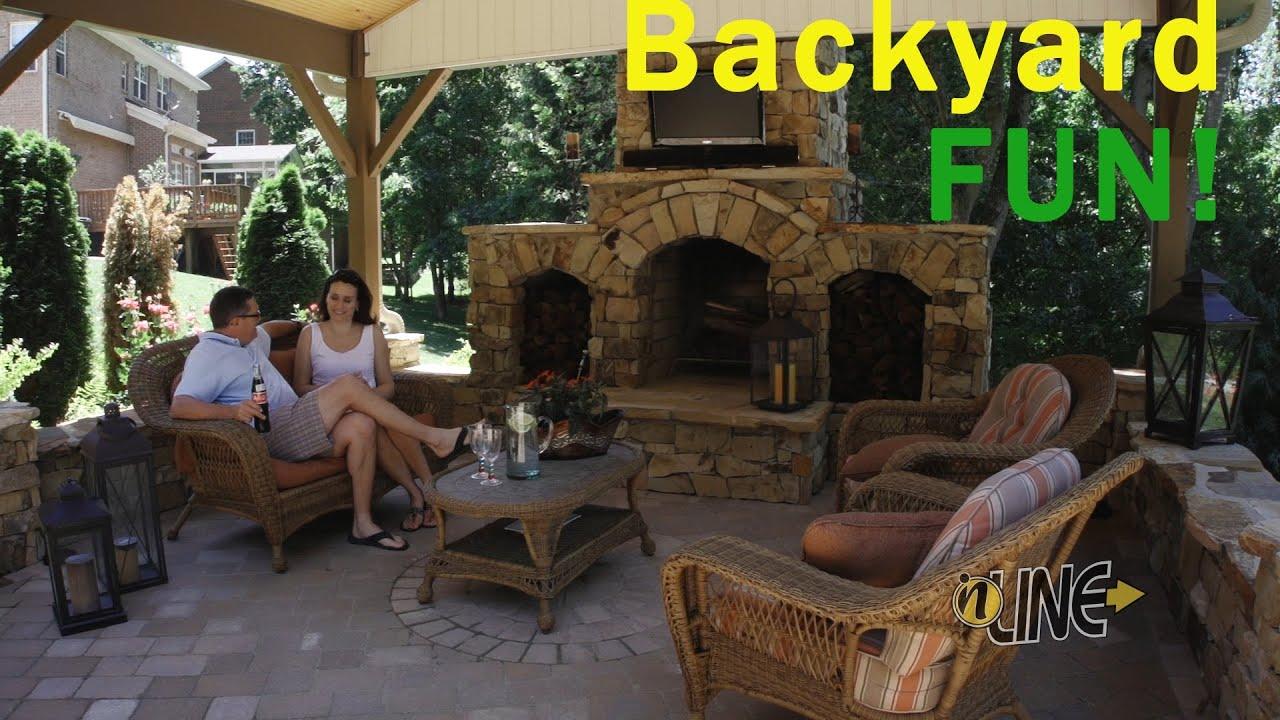 Charlotte General Contractor Builds Amazing Backyard Patio ...