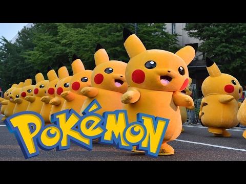 NEW Pokemon Pikachu Song, Pokemon Dance Mix, Nursery Rhymes Songs For Kids