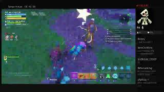Live giveaway fortnite save the world: I give weapons and soso