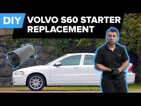 Volvo S60 Starter Replacement – Quick and Easy DIY (850, C70, S40, S60, S70, and more!)