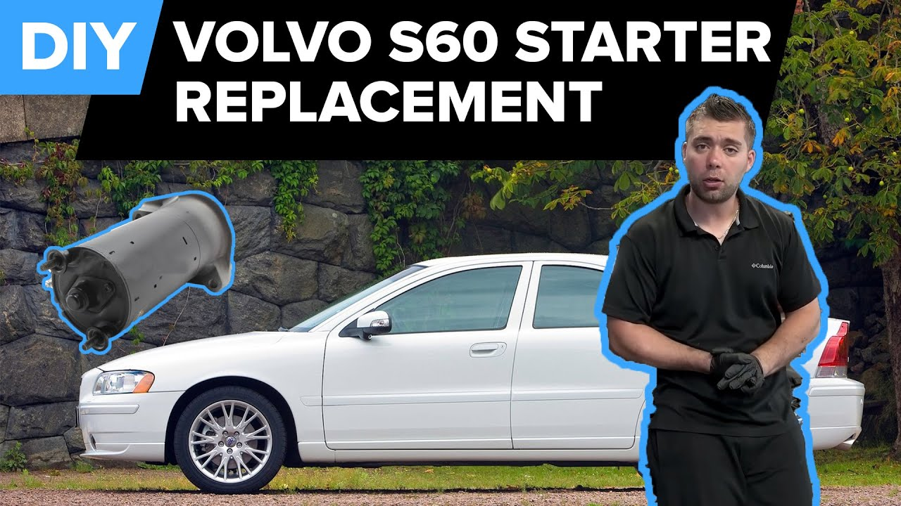 volvo starter replacement - quick fix (850, c70, s40, s60, s70, and more!)