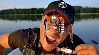 Łowię TYLKO NA ŻELASTWO CHALLENGE | Vlog #107