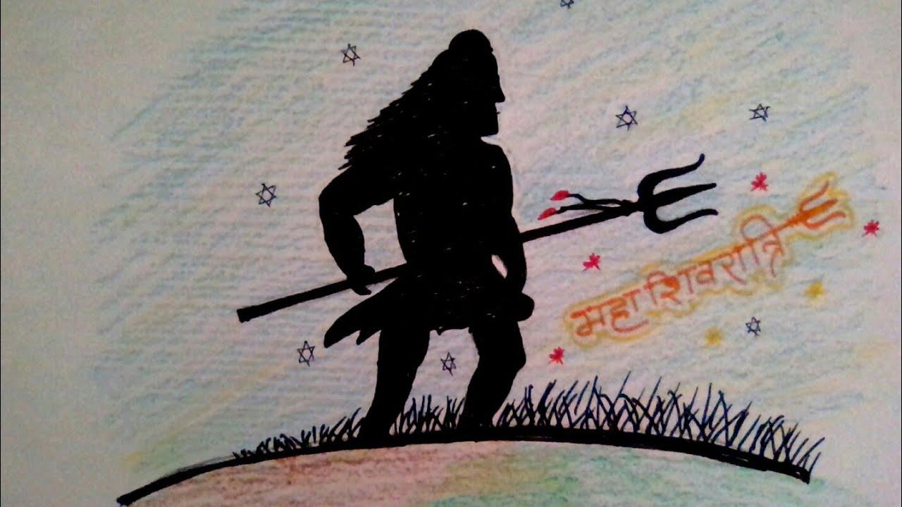 Mahashivratri special drawings jai mahakal