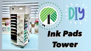 DollarTree DIY Amazing Ink Pads Storage!!!! Easy and Affordable 💚