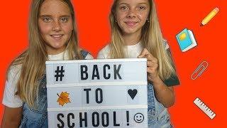 BACK TO SCHOOL!!! Катя и Ксюша показывают покупки к школе