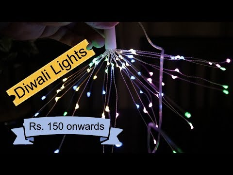 Decoration Lights, Diwali Lights India, Fancy Lights low priced from Rs. 150/-