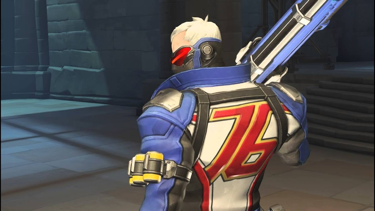 Image result for Soldier: 76