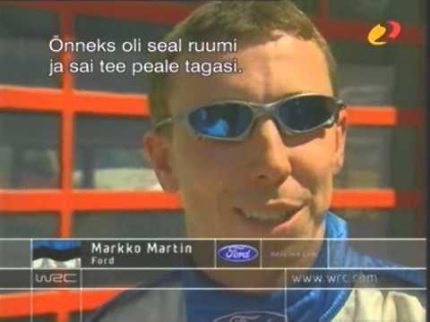 WRC 2003 Best moments with Markko Märtin