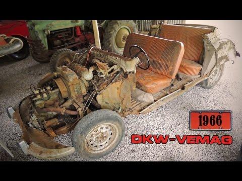 Ligando DKW Belcar 66 - Mais de 30 anos abandonado
