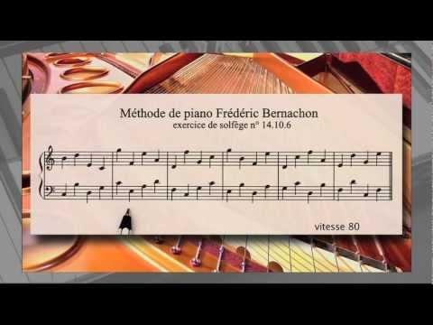 cours de piano classique avec Méthode Bernachon