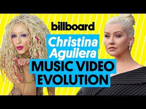 Christina Aguilera Music Video Evolution: 'Reflection' to 'Fall In Line'   Billboard
