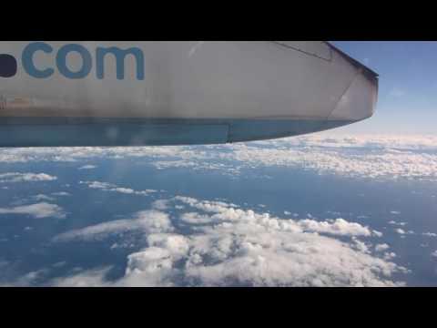 FLYBE Dash 8 Q400 - Liverpool to Belfast City (Full Flight + Cabin)