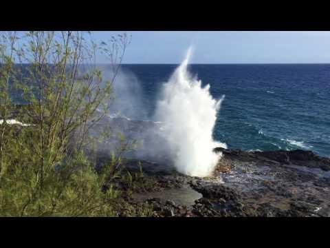 Spouting Horn - Koloa, Kauai