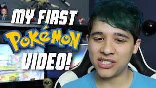 Reacting to my First Pokémon Video! [900,000 Subscribers!]