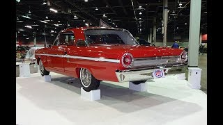 1964 Ford Fairlane 500 Sports Coupe in Red & 289 HiPo Engine Sound - My Car Story with Lou Costabile