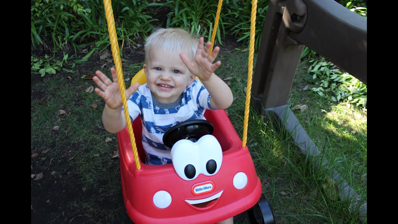 So Cute Little Tikes Cozy Coupe Swing