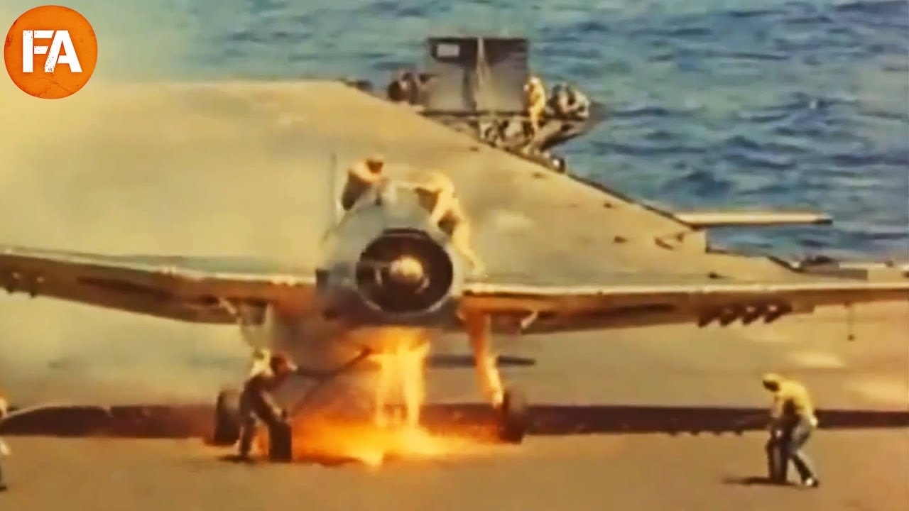 Vintage Aircraft Carrier Landings - Fails and Mishaps ...