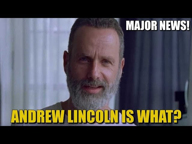 The Walking Dead Season 9 Rick Returning News - Andrew Lincoln Is Coming Back?