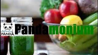 Rv Living Food: Juice-time Kale, Apple, Grape, Celery, Lemon & Cucumber