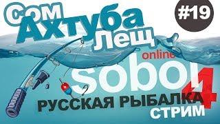 Російська рибалка 4 - Лящ східний і сом на Ахтубі. Стрім #19