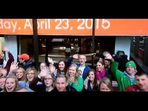 New Haven Seniors On The Today Show