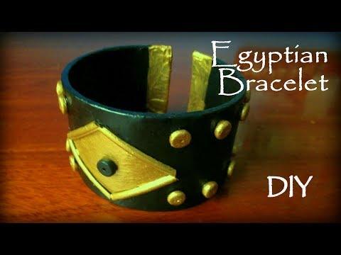 How To Make An Egyptian Bracelet DIY