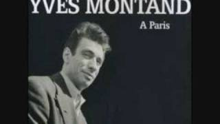 Yves Montand A Paris