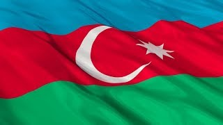 Azerbaycan Dalgalanan Bayrak