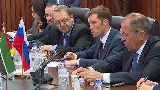 Встреча С.Лаврова и Ж.Пашеку