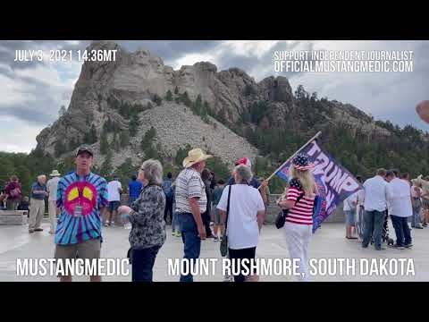 A shy Trump Supporter at Mount Rushmore, yes I said shy shocking #shorts