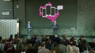 пресс-конференция по запуску сети Tele2 в Московском регионе