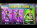 *NEW* NFL Skins [Every Team Variant] + Golden Pigskin Pick! (Fortnite)