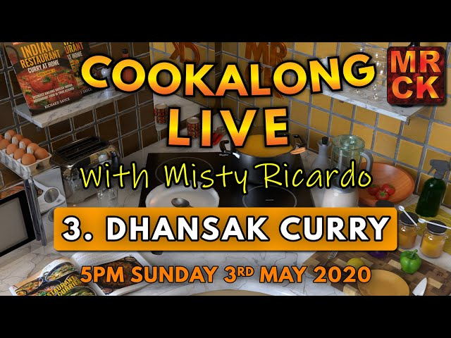 Cookalong Live with Misty Ricardo |  3. Dhansak Curry