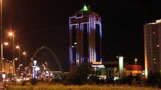 Архитектурная подсветка, Астана Тауэр(, 2014-10-14T04:06:41.000Z)