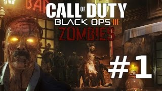 Lets Play CALL OF DUTY: BLACK OPS 3 Zombie Modus Gameplay German Part 1 – Zombies in Shadows of Evil
